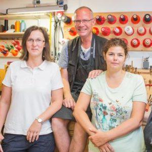 Das Team der Ledermanufaktur Posenanski freut sich auf Ihren Besuch!